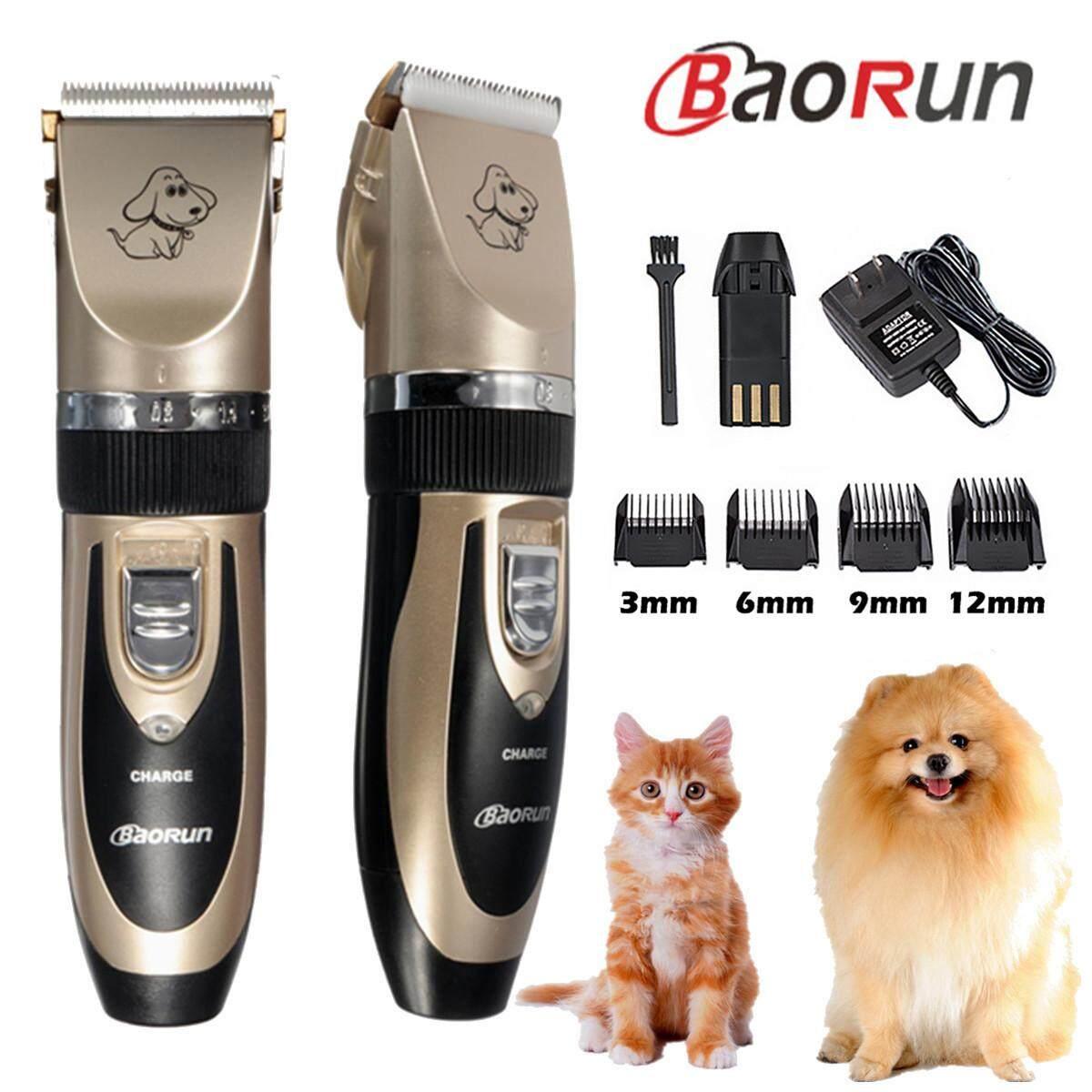 Free Pengiriman + Flash Deal baorun Profesional Hewan Peliharaan Kucing  Bulu Anjing Alat Cukur 5eb107a954
