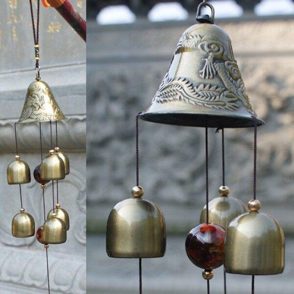 Chapel Bells Resonant Deep Tone Wind Chimes Garden Yard Craft Gift Hanging Decor
