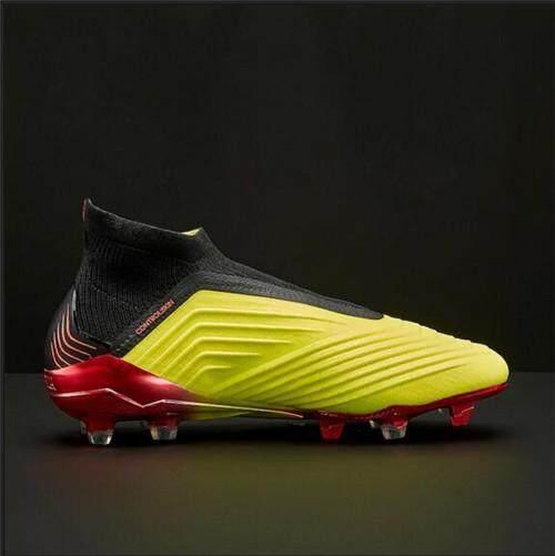 90ae5d860293 Adidas Official Football League Men s Soccer Shoes Size 40~45 Discounted Predator  18