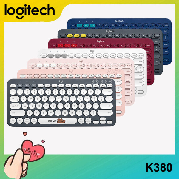 [Ready to Ship] Logitech K380 Bluetooth Multi Device Wireless Keyboard For PC Laptop Computer Singapore