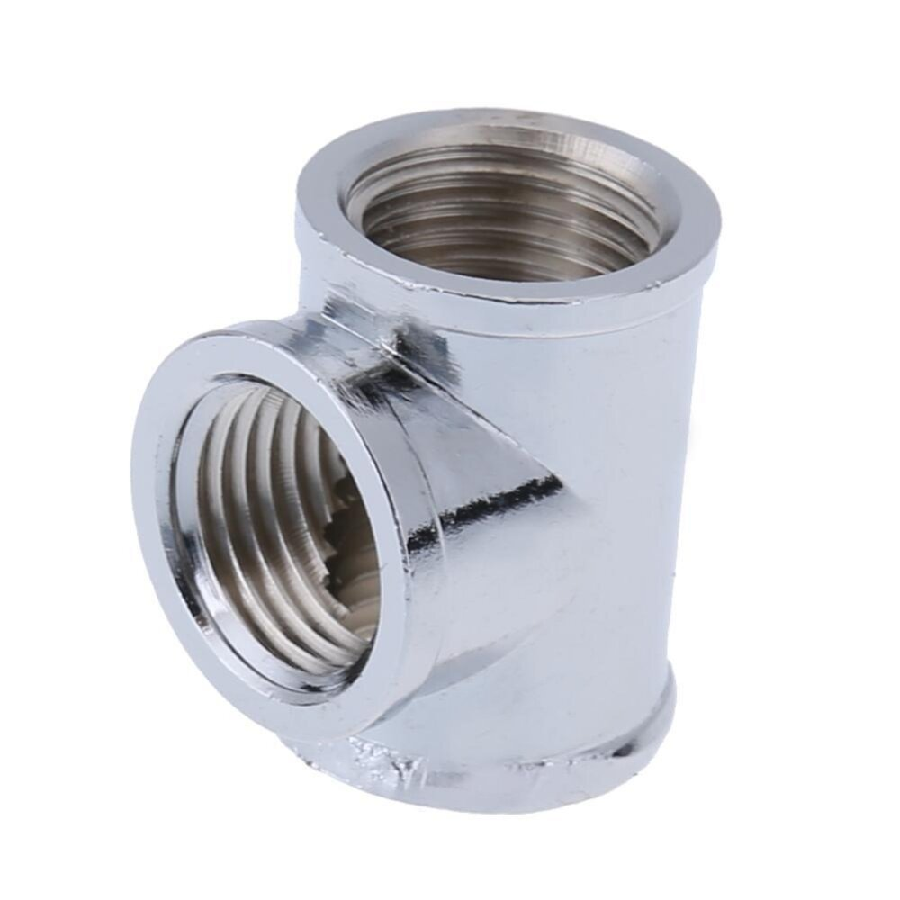 T-Shape 3 Way G1/4 Water Pipe Connector Part for PC Water Cooling System