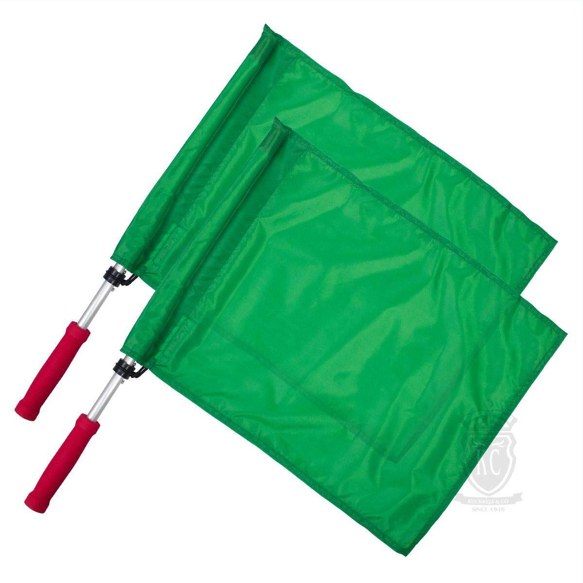 Trident Judges Flag - Green By Kuckreja And Co..