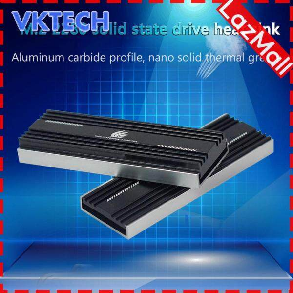 M.2 SSD Heatsink Cooler M2 2280 Solid State Hard Disk Radiator Thermal Pad Malaysia