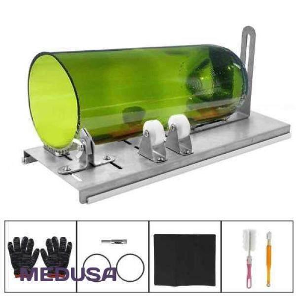 [ MEDUSA ] DIY Glass Bottle Cutter Adjustable Sizes Metal Glassbottle Cut Machine for Crafting Wine Bottles Household Glass Cutting Tool (5)