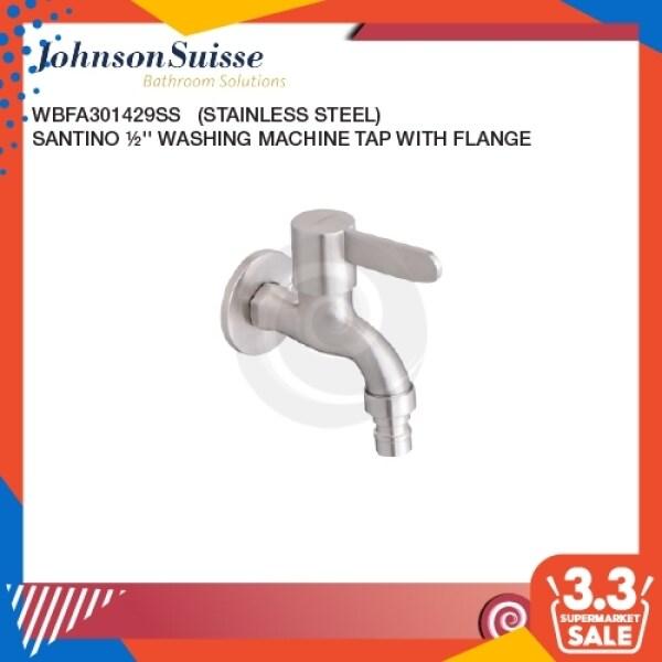 Johnson Suisse Santino SS 1/2 Washing Machine Tap | Water Tap | Bathroom Faucet | Basin Tap