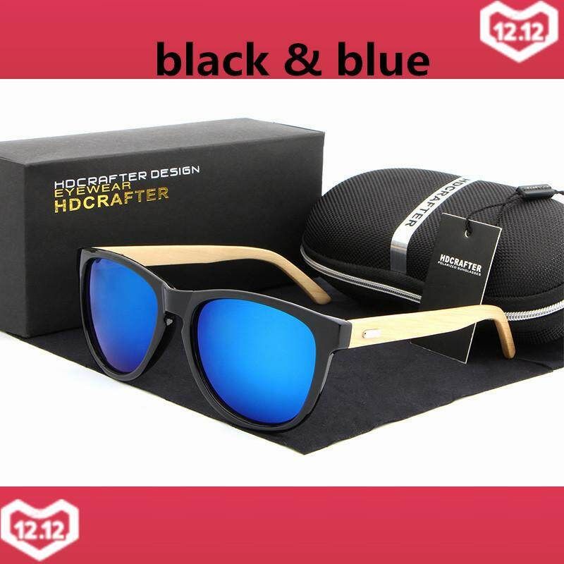 1a31cf2e9cedc HDCRAFTER 2017 Fashion New Bamboo Foot Sunglasses Men Women Retro Wooden  Sunglass Caoting Goggles Oculos