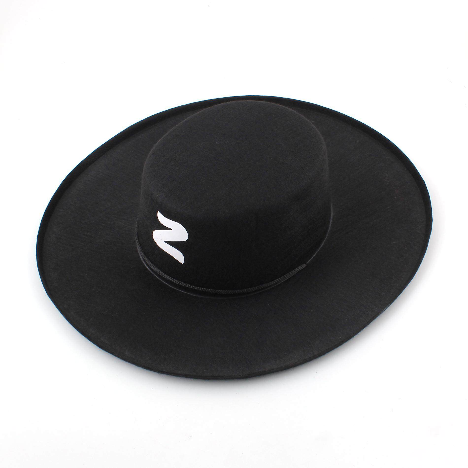 Spanish Bandit Zorro Hat Costumes Halloween Party Fancy Dress toys for girls