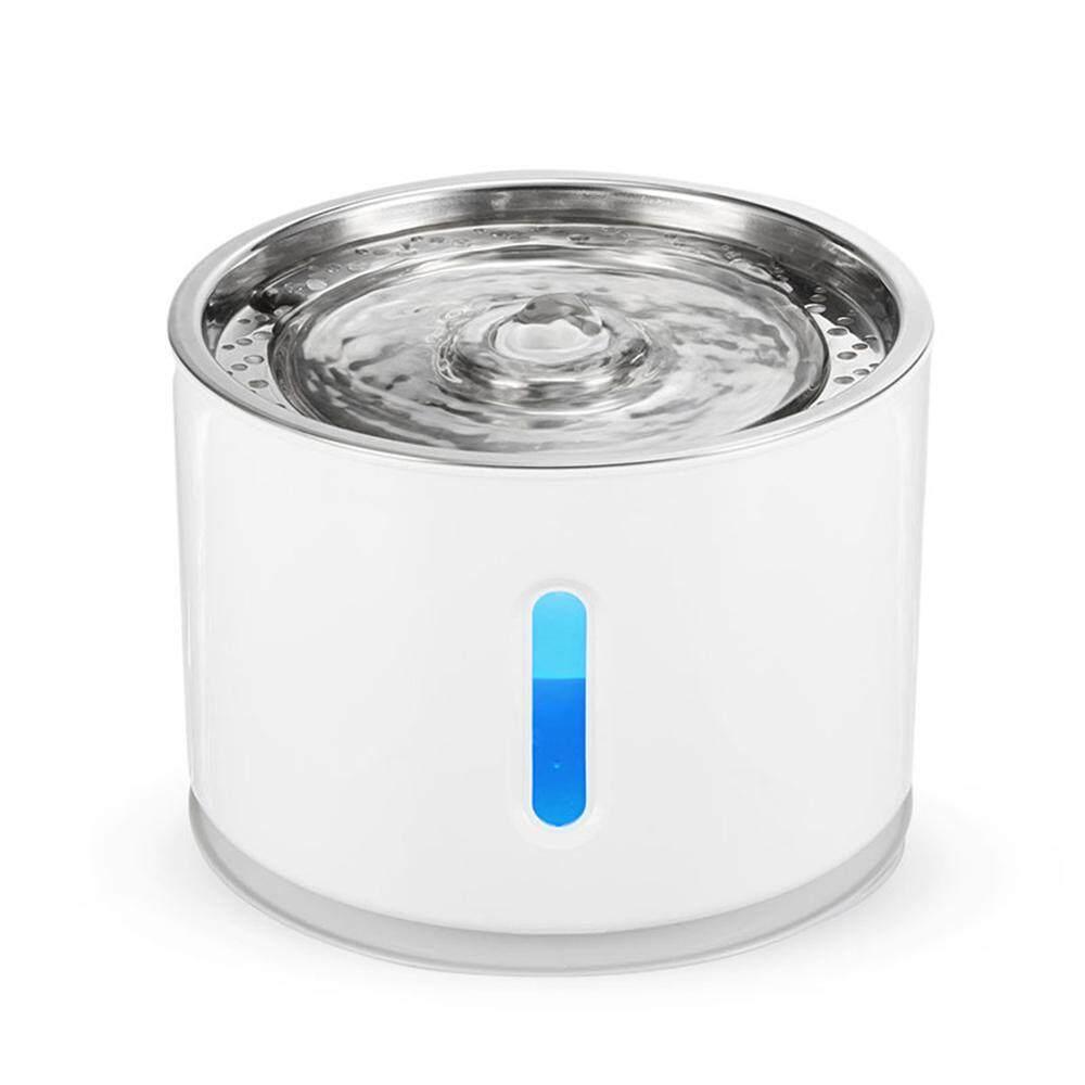 Bumblebaa LED Cat Air Mancur Dispenser Air Otomatis Air Minum Pancuran dengan Adjustable Air Aktif Filter Karbon untuk Kucing dan Anjing
