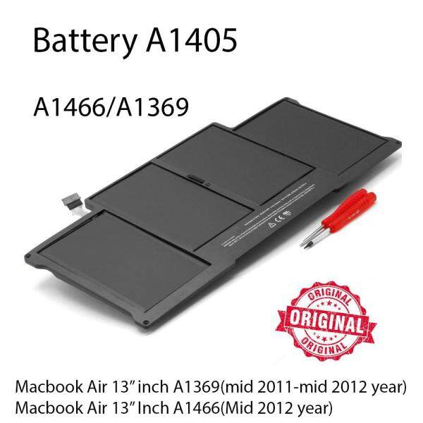 ORIGINAL Battery A1405 for Apple MacBook Air 13 A1369 A1466 Malaysia