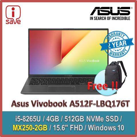 Asus Vivobook A512F-LBQ176T 15.6 FHD Laptop Slate Grey Malaysia