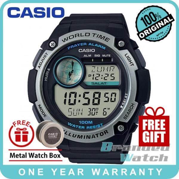 Casio CPA-100-1AV Mens Digital Islamic Prayer Alarm Hijri Calendar Resin Watch CPA-100-1A CPA-100-1 Malaysia