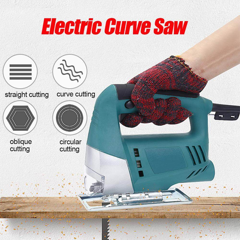 Jig Saw Electric Curve Saw Cutting Machine 550W 220V Compact Angle Adjustable