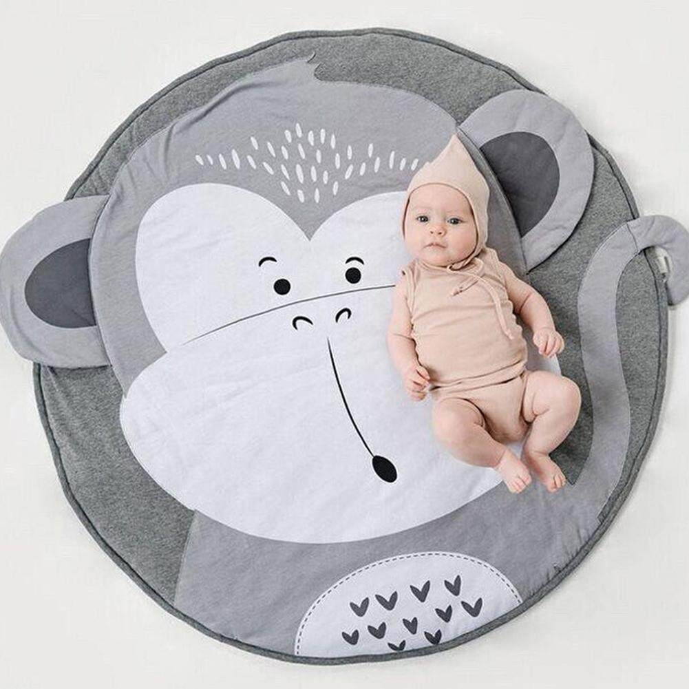 Veecome Kids Baby Cute Cartoon Game Mat Play Crawling Gym Blanket Floor Rug Home Decors