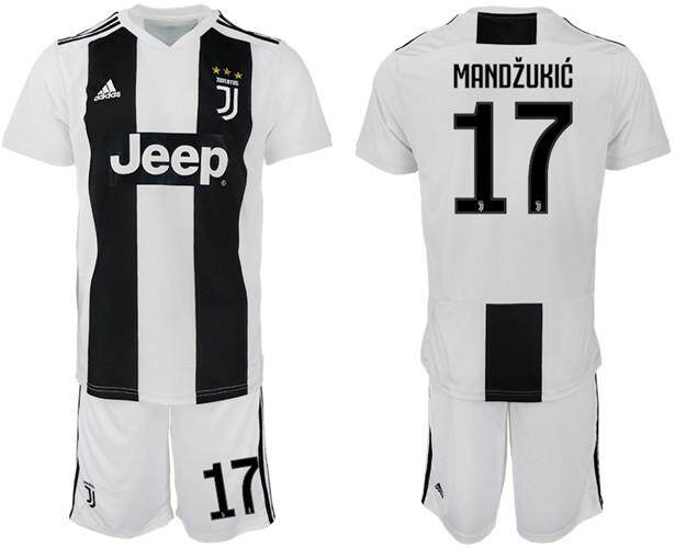 Adidas Official Serie A Juventus F.C.  17 Home 2018-19 Season MENS FootBall  Jersey 242373dbd