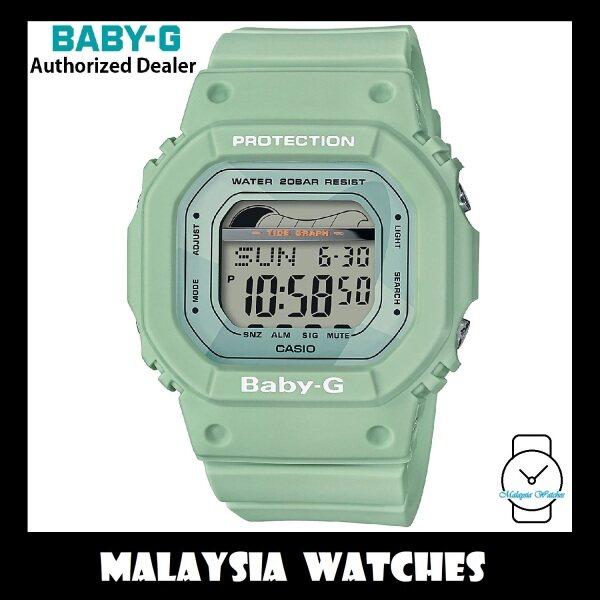 (OFFICIAL WARRANTY) Casio Baby-G BLX-560-3 G-LIDE Tide Graph Digital Green Resin Sports Watch BLX560 BLX-560 BLX560-3 BLX-560-3DR Malaysia
