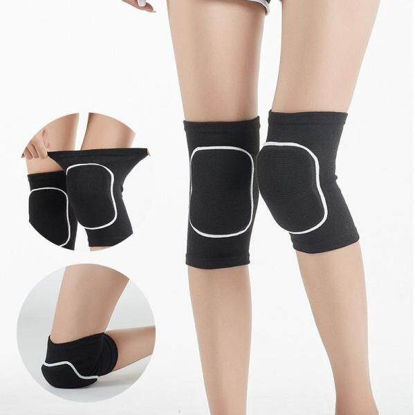 Knee Guard Protector Knee Pads Volleyball Knee Pads Non-slip Knee Pads Support Cover Thicken Anti-collision Knee Pads Knee Pads Flexible And Breathable Elbow Pads Dancers Yoga Gymnastics Knee Pads Knee Sleeves