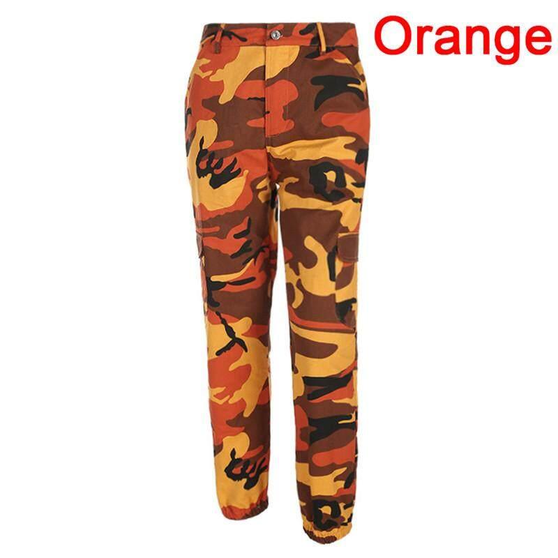 7e0b7f69427e0 Fashion Women s Casual Pants Army Jogger Pants Military Camouflage Pants  Slim