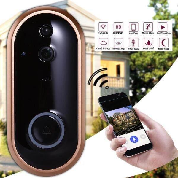 Smart WIFI Doorbell Wireless Video-eye Campainha Ring Door Bell With Camera IR Entry Door Alert Security Chime Doorbell Camera