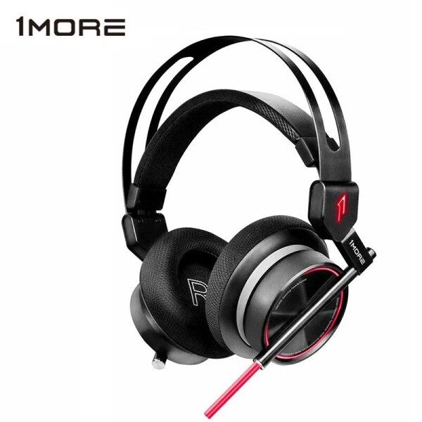 1MORE Head-Mounted Gaming Headset E-Sports Earphone for PC Gamer 7.1 Surround Sound Color LED ENC Dual Microphone Noise Reduce Singapore