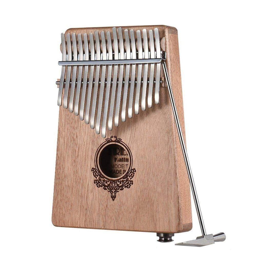 OSMAN 17 Phím đàn Piano Kalimba Túi Kích Thước ngón tay Piano nhạc cụ bằng gỗ
