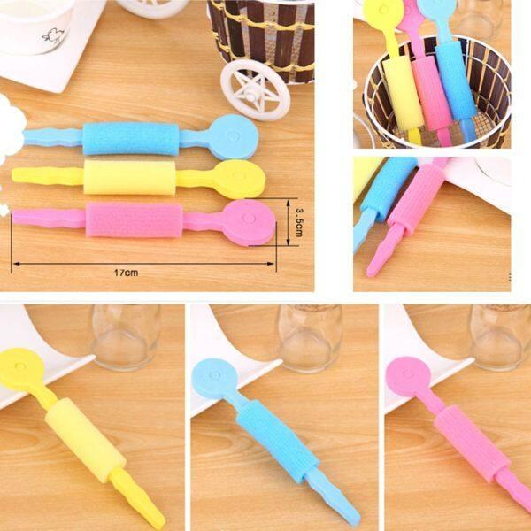 Flexi Gậy 3 Cái/bộ Stick Phụ Kiện Maiden Salon Bun Tool DIY Phong Cách Làm Tóc Mềm Crimper Con Lăn Styling Sponge Curler Tóc Xoăn