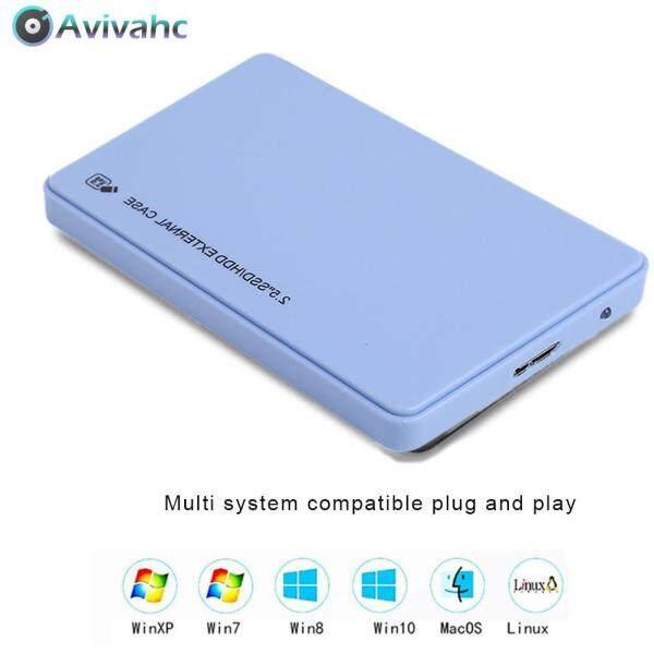 Bảng giá 2.5 Inch USB3.0 Hộp Đĩa Cứng Bao Vây 5Gbps SATA HDD SSD Vỏ Ngoài Di Động Cho Máy Tính Xách Tay Máy Tính Để Bàn Phong Vũ