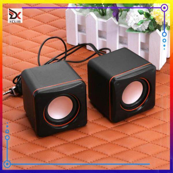 USB 2.0 Notebook Desktop Portable Mini Audio Speaker Subwoofer for Laptop Malaysia