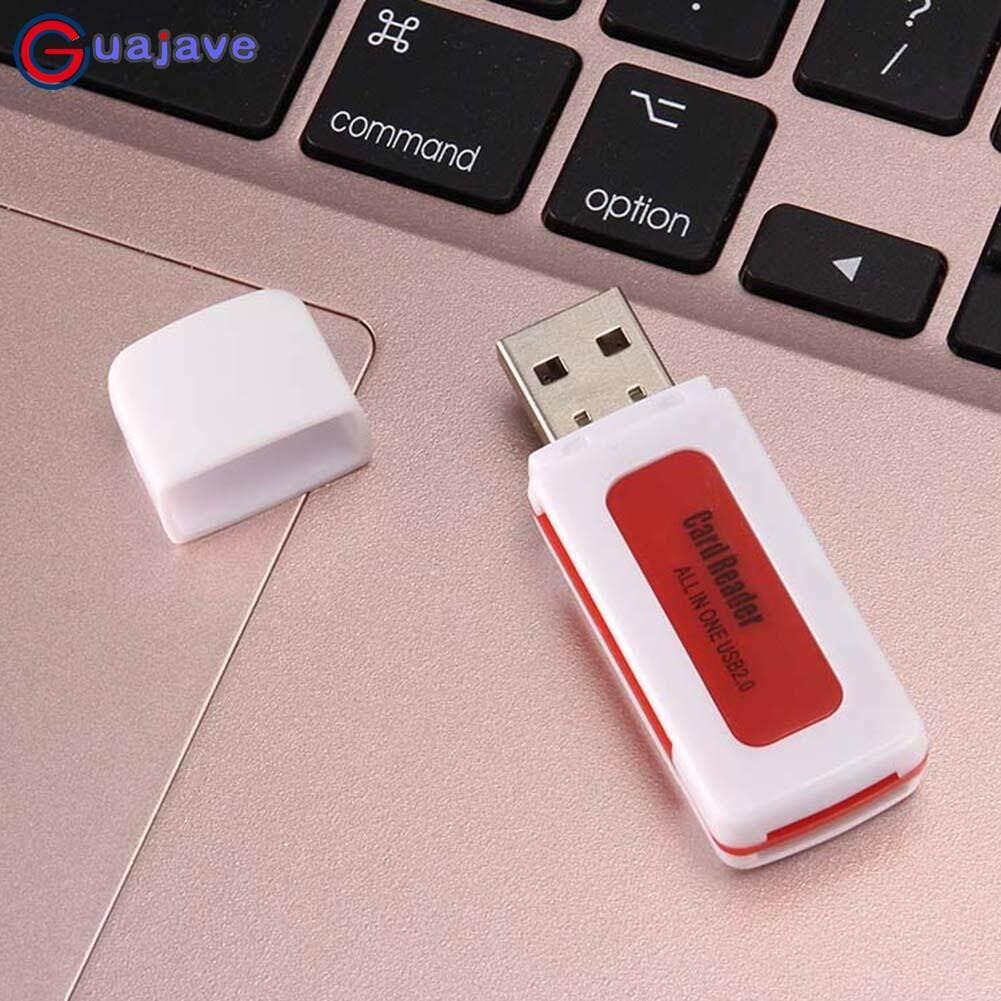 Guajave Mini Tất Cả Trong Một Thông Minh USB 2.0 Đầu Đọc Thẻ SD/MMC/TF/Micro MS M2 Thẻ đầu đọc 4 Thẻ Khe Cắm