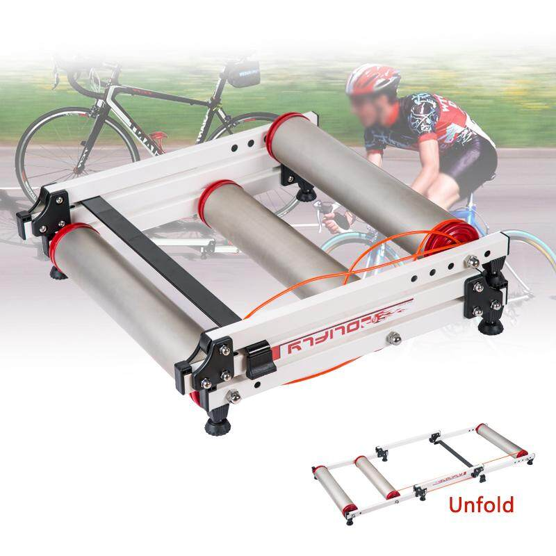 21''-38'' Pro Foldable Indoor Bicycle Bike Cycling Roller Trainer Bike Exercise