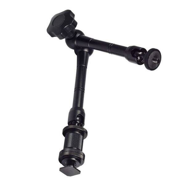 Giá 11 Magic Arm Articulating Friction Arm with Hot Shoe Mounts for DSLR Camera Rig, LCD Monitor, DV Monitor, LED Lights, Flash Lights, Microphones, DJI Osmo,Smart Phone and More