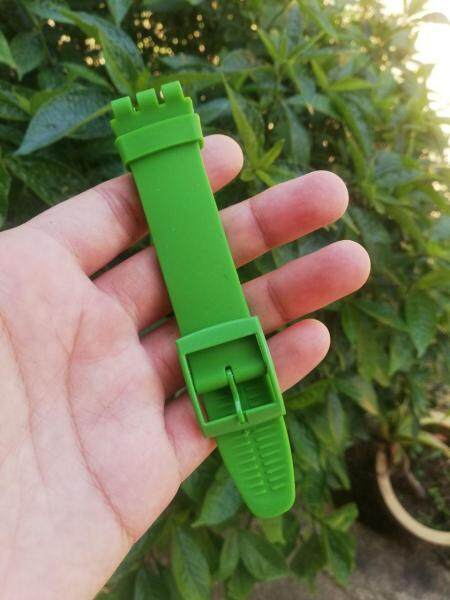 Ready Stock Swatch Rubber Silicone 17mm Replacement Strap Malaysia