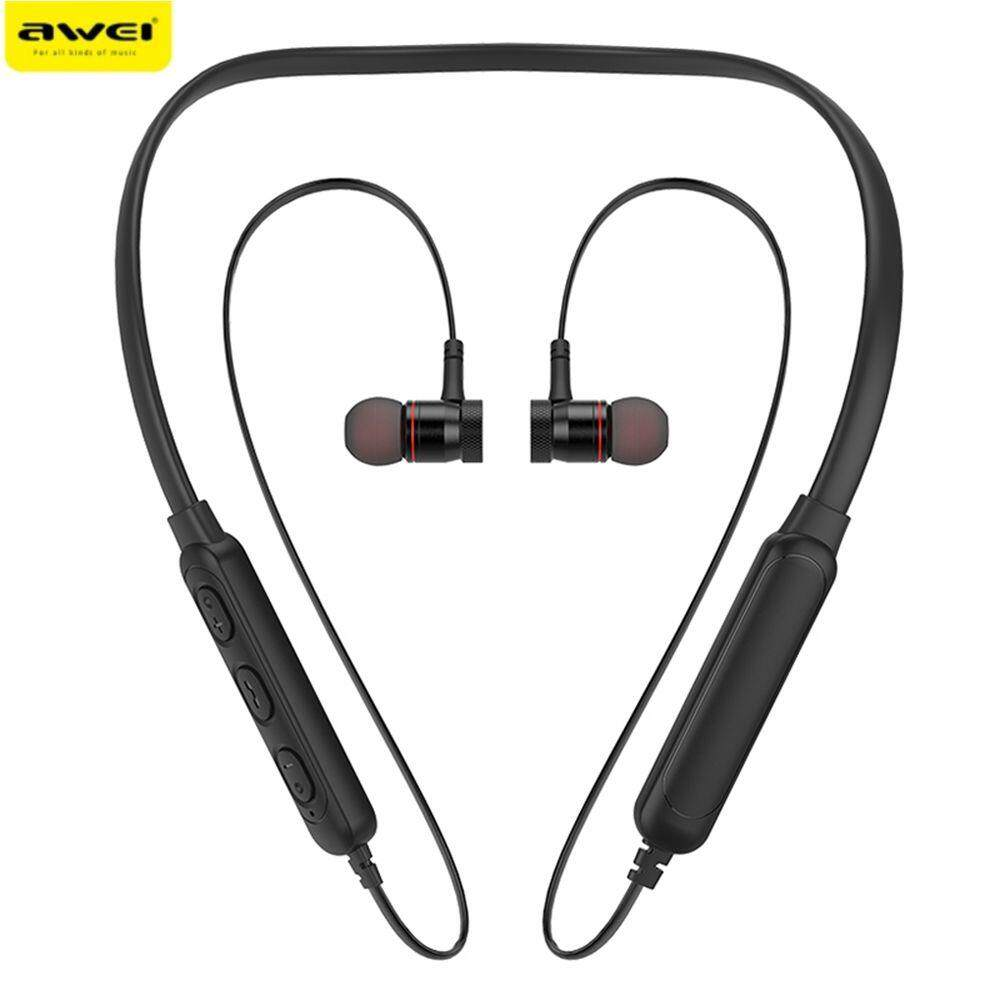 a7f079187b3 【Clearance】Awei G10BL Stereo Bluetooth Sports Earphones Neckband Wireless  Magnetic Absorption Earbuds
