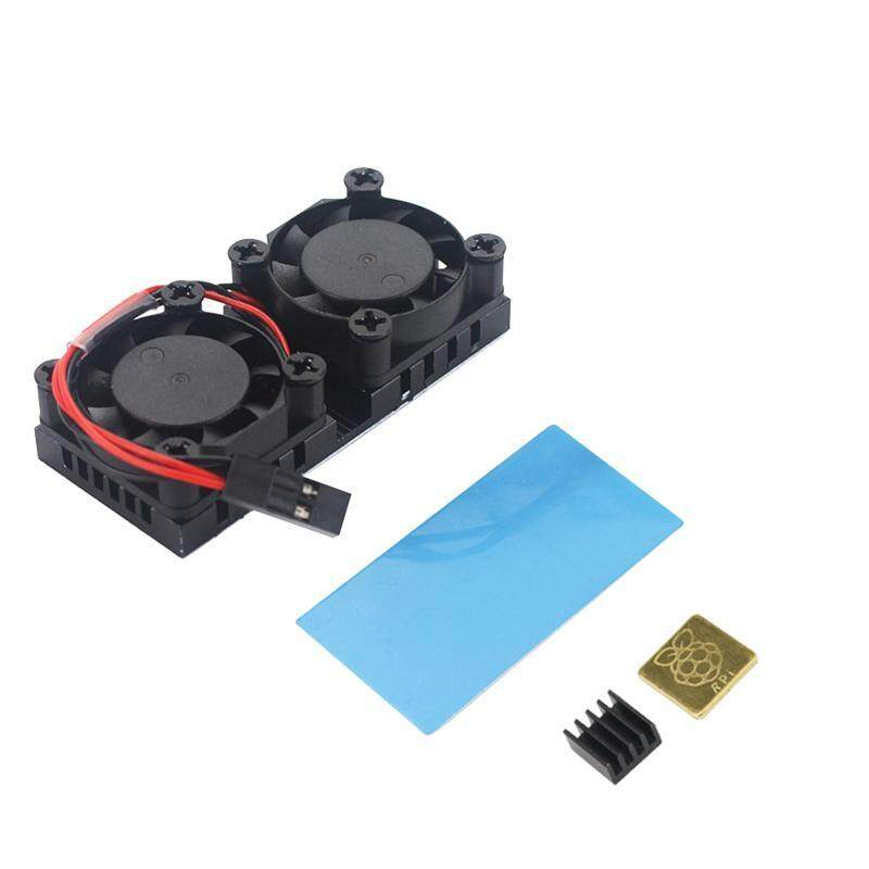 Bảng giá Raspberry Pi Dual Fan With Heat Sink Ultimate Double Cooling Fans Cooler For Raspberry Pi 3 Model B+ Plus Or 3B Phong Vũ