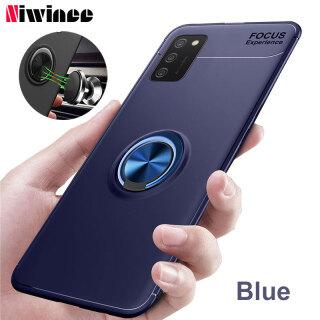 Ốp Lưng NIWINEE Cho Samsung Galaxy A03S A02S, Ốp Có Giá Đỡ Vòng Từ Tính Silicon 360 Bảo Vệ thumbnail