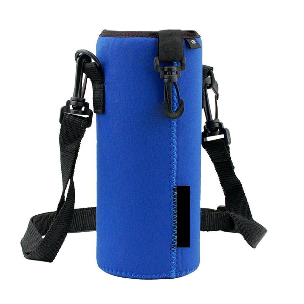 Water Bottle Carrier Insulated Cover Bag Pouch Shoulder Holder Strap-28