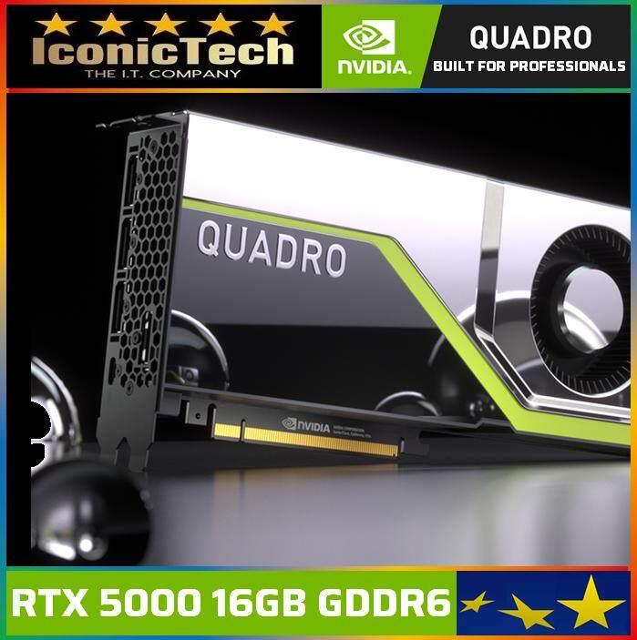 NVIDIA QUADRO RTX5000 8GB GDDR6 256Bit PCIe Professional Workstation Graphics Card