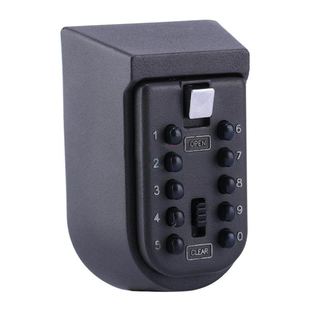 Outdoor Wall Mount Spare Key Safe Box Lock Holder Water Weatherproof
