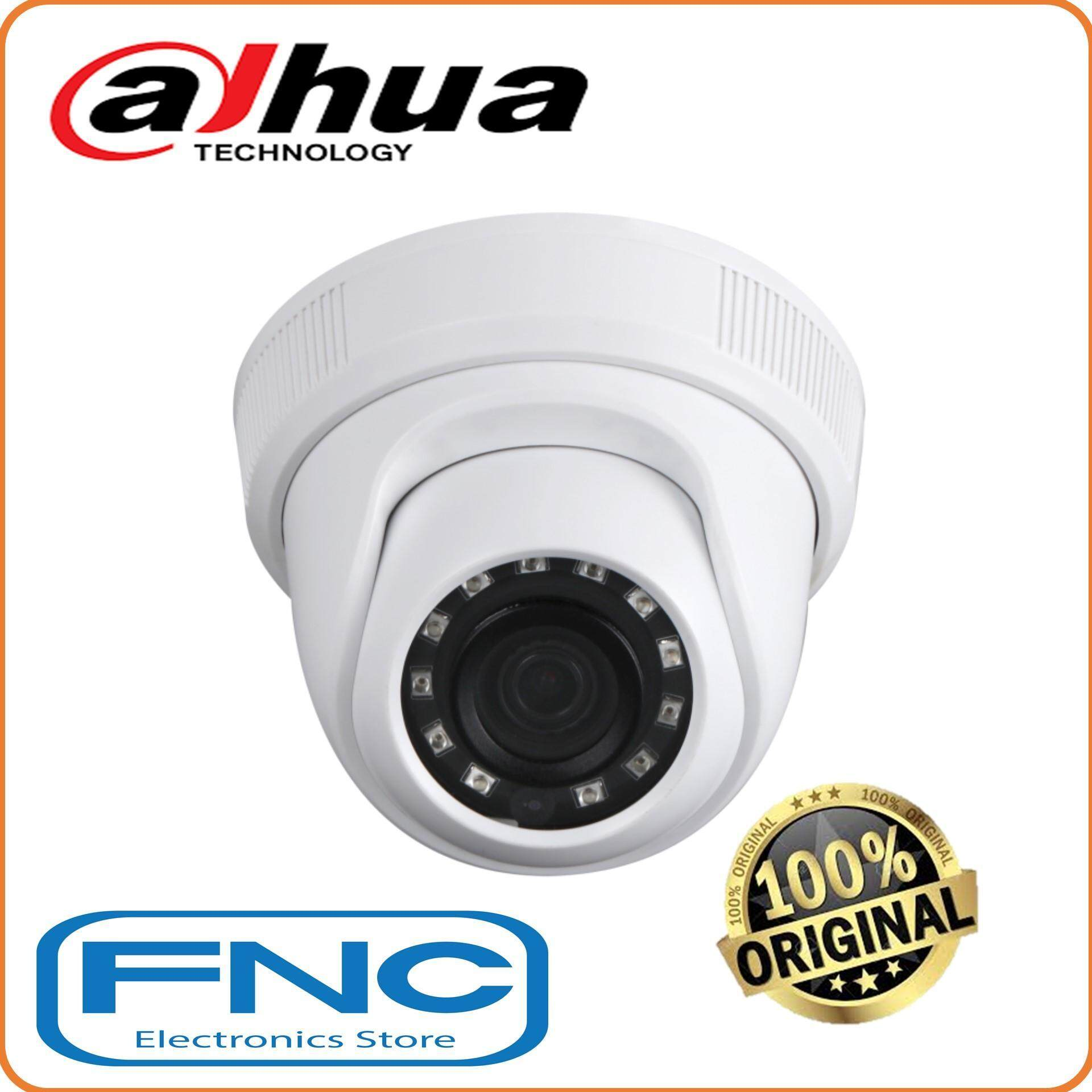 Dahua Hac-Hdw1200c Analog 2mp 1080p Fixed 2.8mm Lens Hdcvi 4 In 1 Ir Eyeball Dome Camera By Fnc Electronics Store.