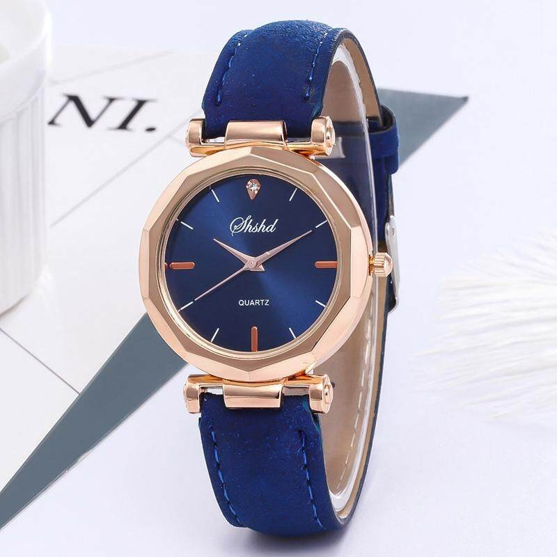 SUNNY Fashion Ladies Leather Casual Watch Luxury Analog Quartz Wristwatch Gifts Malaysia