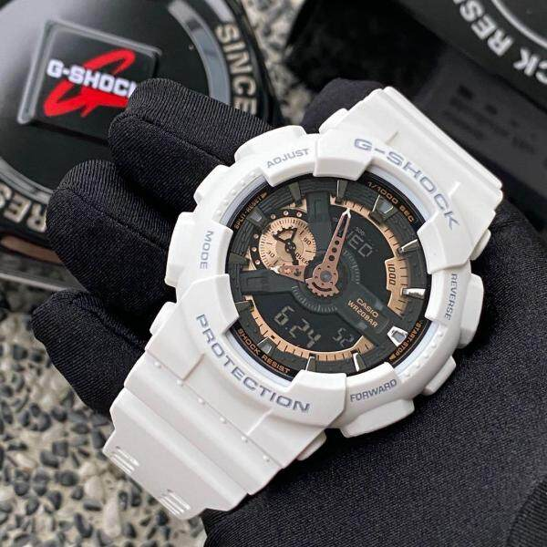SPECIAL PROMOTION CASI0 G... SHOCK_GA110 DUAL TIME RUBBER STRAP WATCH SET FOR MEN Malaysia