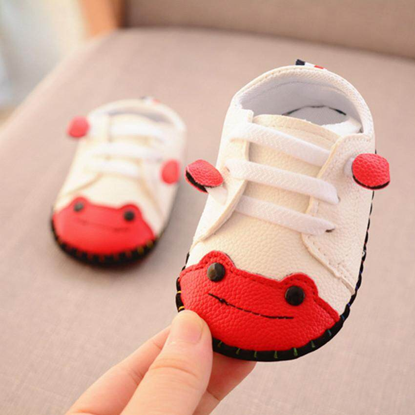 9edaa232 HOT New Arrival Sports Casual Frog Soft bottom Leather Shoes Children's  Baby Boys Girls FZTZ0018