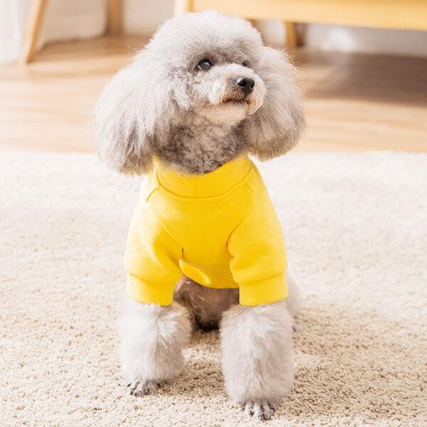 Teddy Puppy Dog Lông Cừu Quần Áo Thú Cưng Chó Con Giống Nhỏ Hơn Gấu Leung Mùa Tuổi Chun Xia, Schnauzer Mỏng