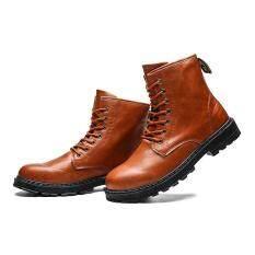 Quảng Shop Giày Bốt nam Cao Giúp Martin Giày Boot Nam Cổ Cao đến Mắt Cá Chân Giày Giá Rẻ Giày Thoải Mái Giày
