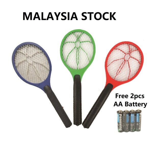Mosquito Racket / Insects Zapper Swatter Racket / Raket Nyamuk / Mosquito Killer / Electric Mosquito Swatter