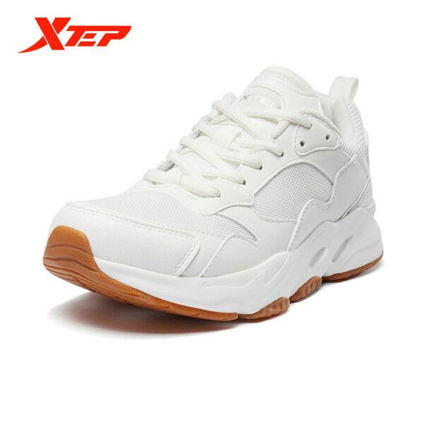 Giày Nam Xtep Giày Chạy Bộ Màu Trắng Cho Nam Giày Chạy Bộ Thể Thao Thường Ngày Ngoài Trời Giày Thể Thao Giày Chạy Bộ Nhẹ Có Dây Buộc Thể Thao 881219329808 giá rẻ