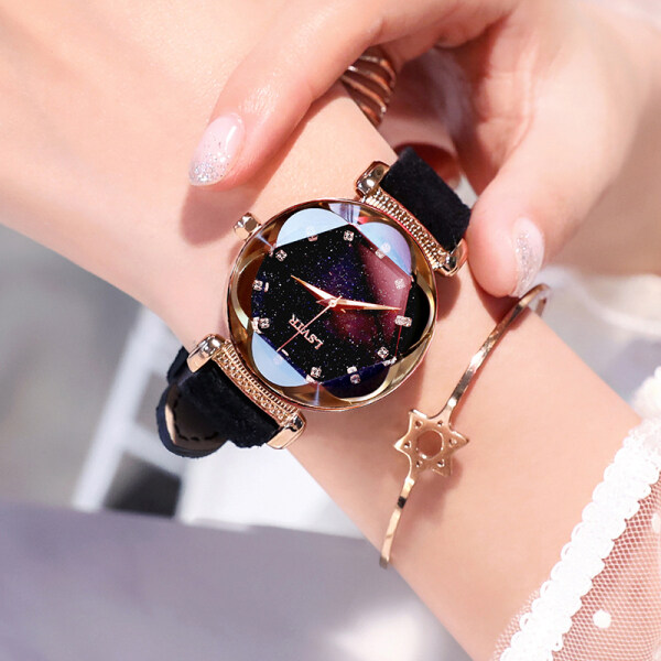 MIC Watch female watch student Korean version of simple college style ins Harajuku style fashion trend casual atmosphere waterproof retro Malaysia
