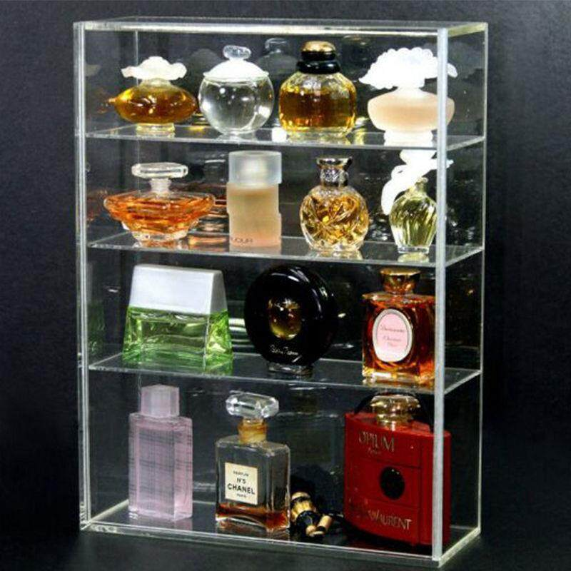 Acrylic Display Box Show Case Perfume Storage Box Acrylic Plexiglass Display Rack Mini Perfume Bottle and Toy Art