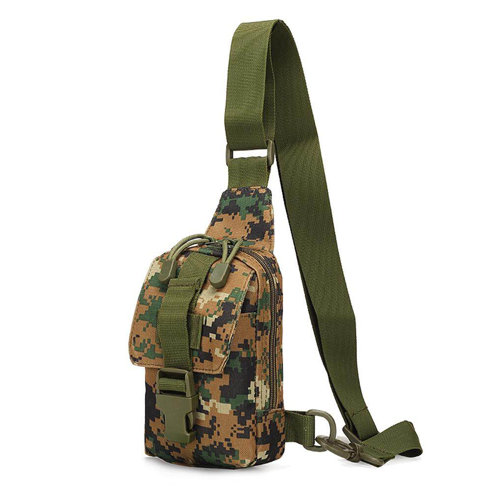 Fashionhead  Outdoor Sports Tactical Travel Daypack Waterproof Crossbody Shoulder Chest Bag