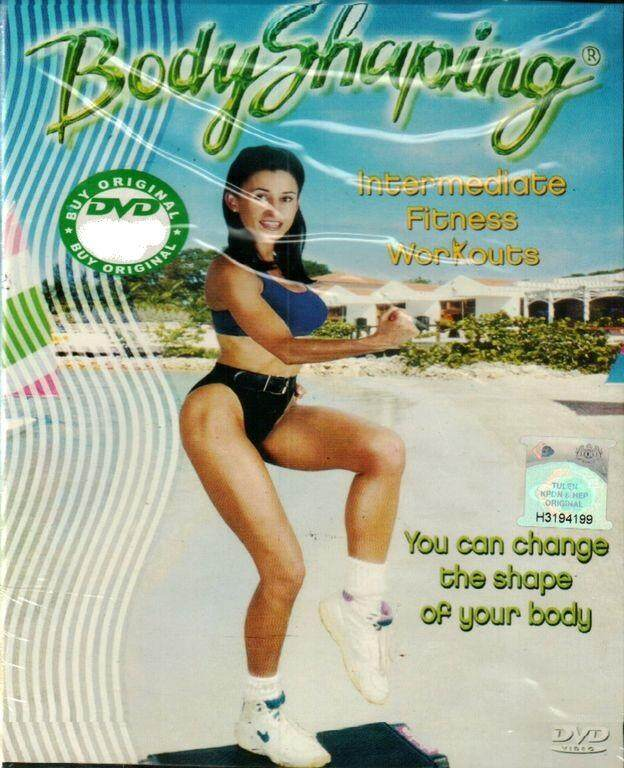 Body Shaping Intermediate Fitness Workouts Dvd By Discplayer.