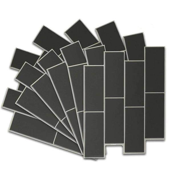 Peel and Stick Backsplash Tiles for Kitchen Bathroom,Self-Adhesive Tile Stickers Stick on Wall Tile (6 Sheets)